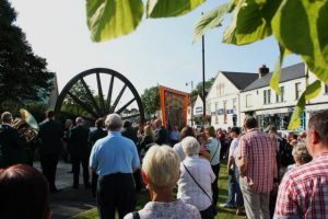 photo of the Pit Wheel on Gala Day