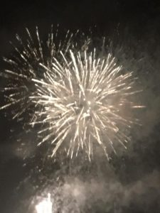 photo of firework exploding
