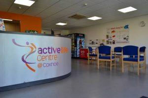 Active Life Centre centre reception area