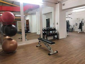 bench press and massive balls