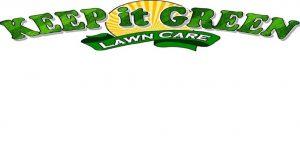 Image of keep it green lawncare  logo