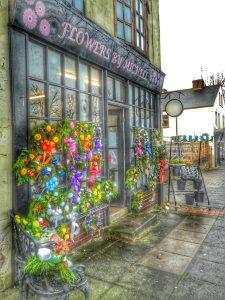 Photograph of Shop window display Frront Street