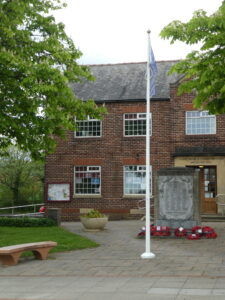 The Village Hall on VE day